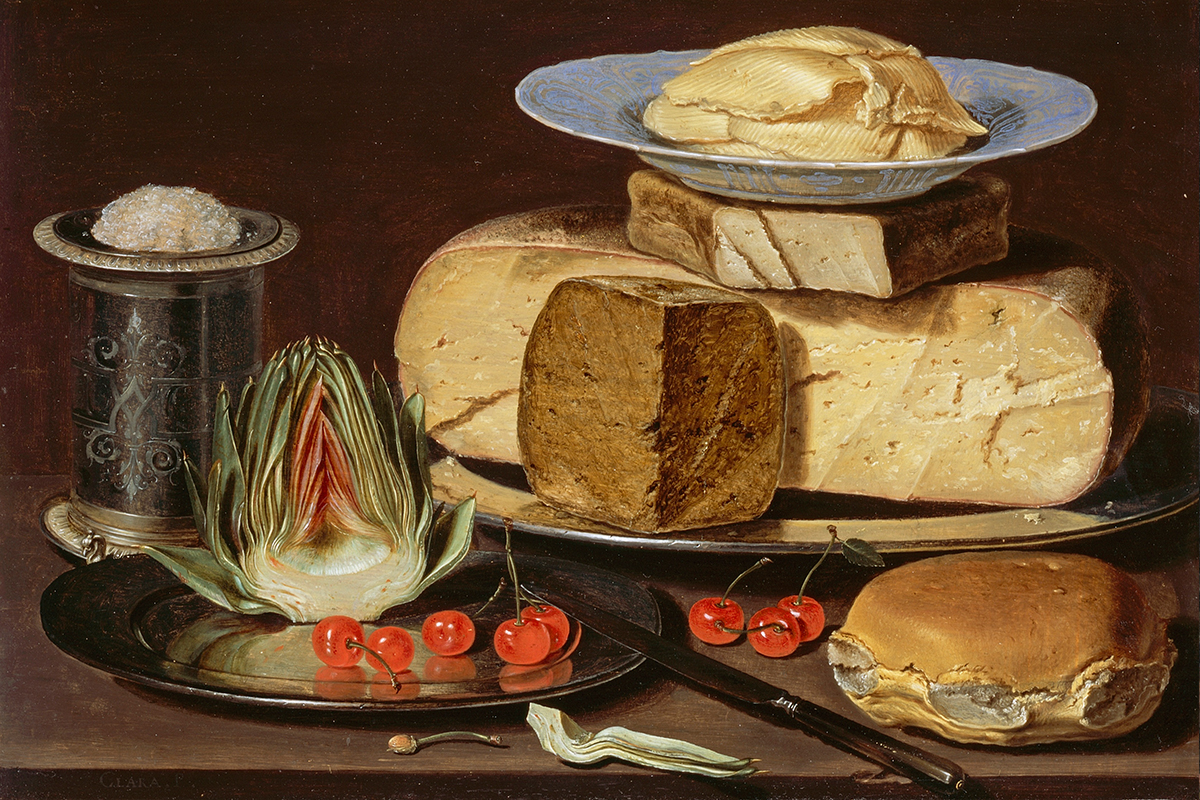 In Dutch Still Lifes, Dark Secrets Hide behind Exotic Delicacies
