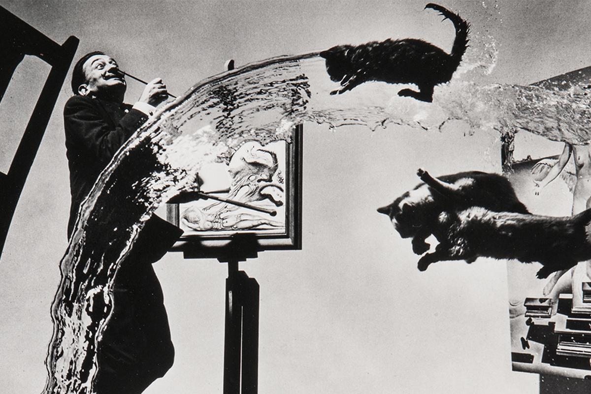 ART PRINT Salvador Dalí In Voluptate Mors 1951 Philippe Halsman