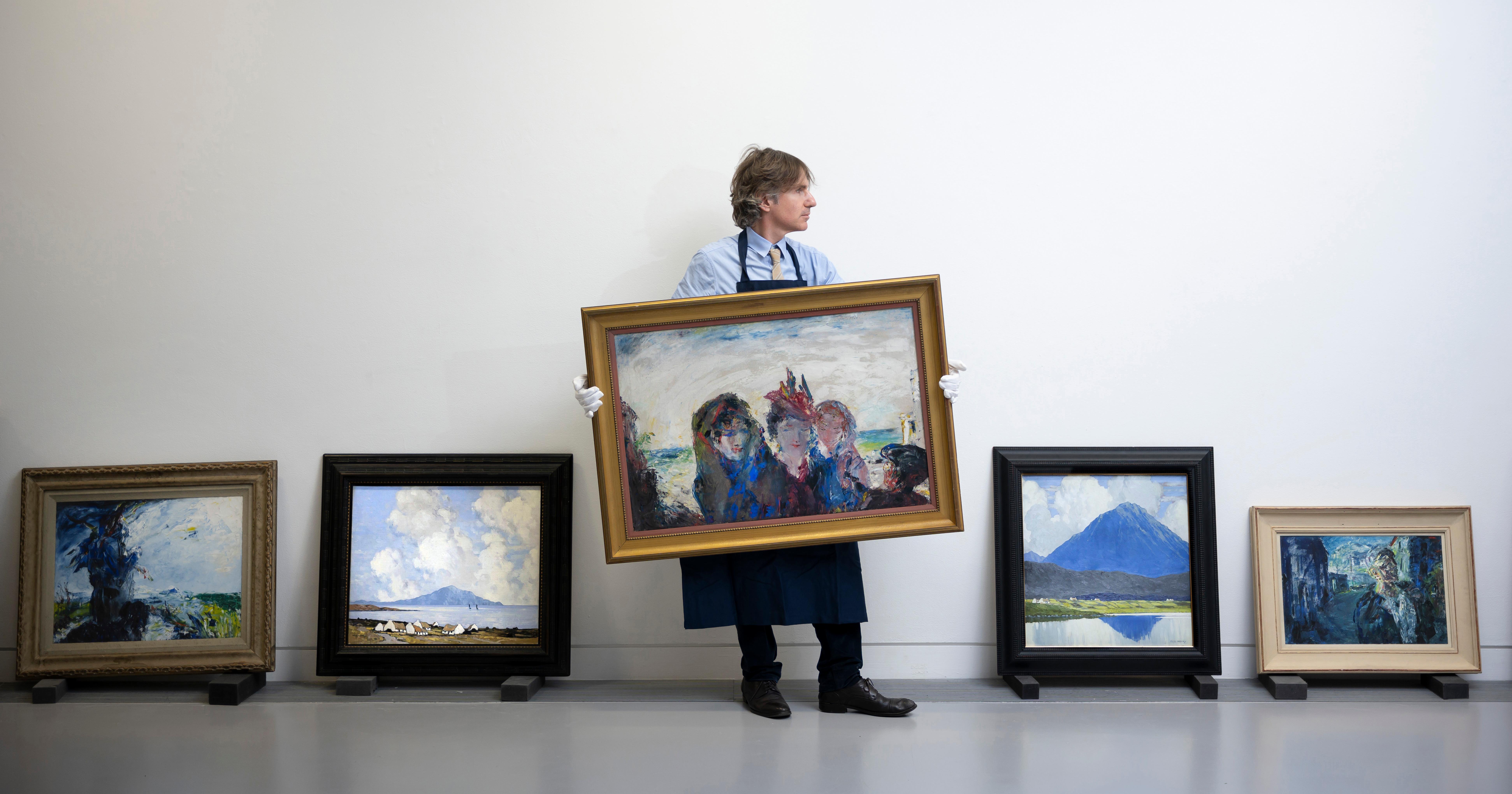 The Global Art Market Fell To 64 1 Billion In 2019 Down 5 Percent Artsy
