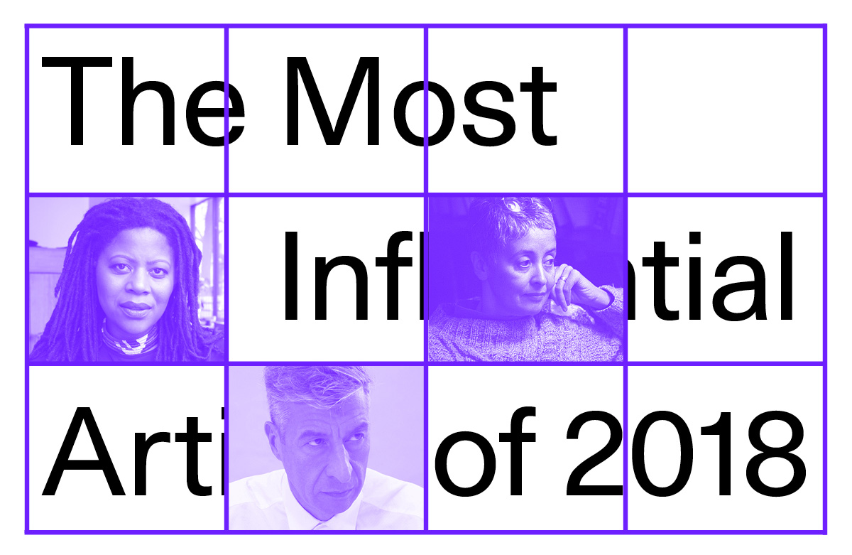 The Most Influential Artists of 2018 - Artsy
