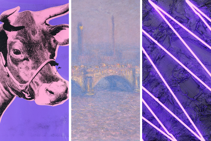 What Art History Tells Us About Ultra Violet, Pantone's Color of the Year - Artsy