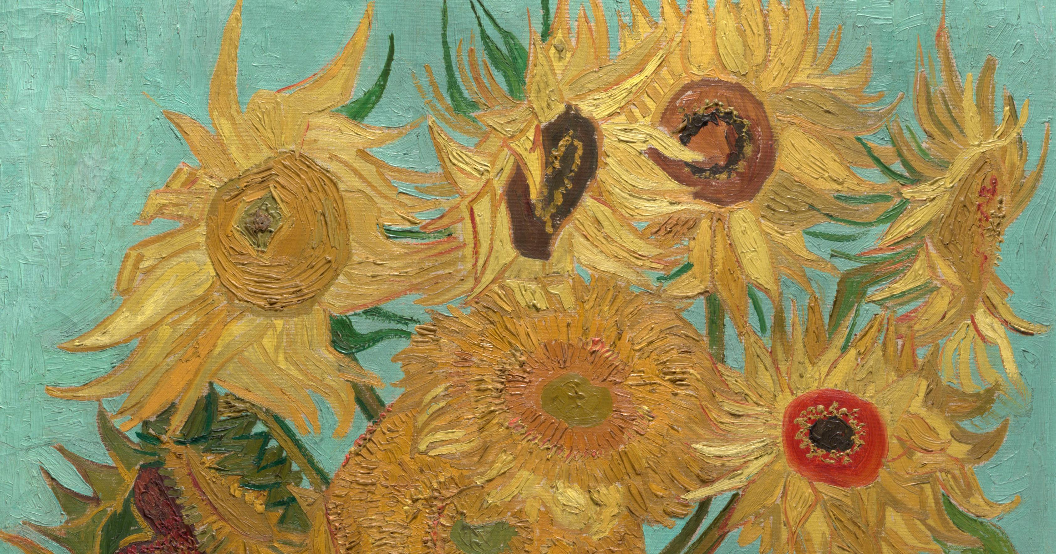 Why Vincent Van Gogh Painted Sunflowers Artsy