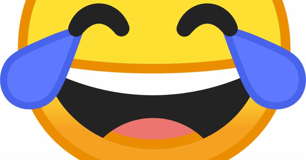 """Face with tears of joy"" is the most popular emoji in the U.S."
