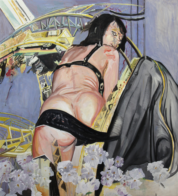 In Dubai, A Former Graffiti Kid's Politically and Sexually Charged Images