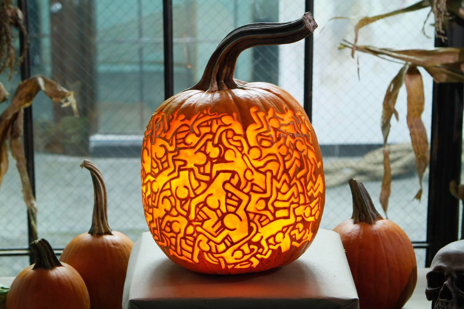 These Artists Are Carving Incredibly Detailed Art Historical Pumpkins Artsy