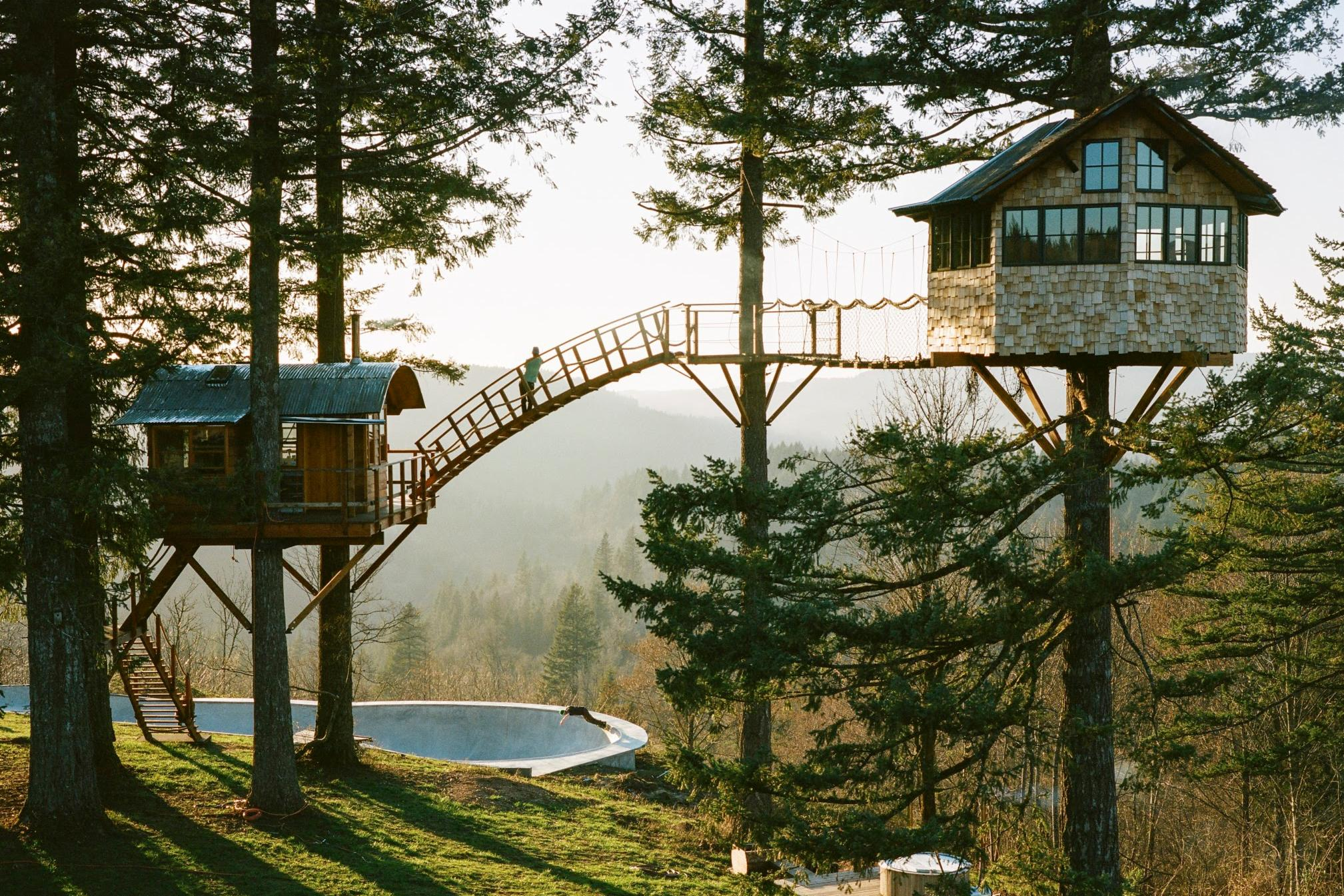 8 awe inspiring treehouses around the world