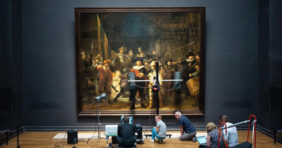 The Rijksmuseum Will Restore Rembrandt S The Night Watch