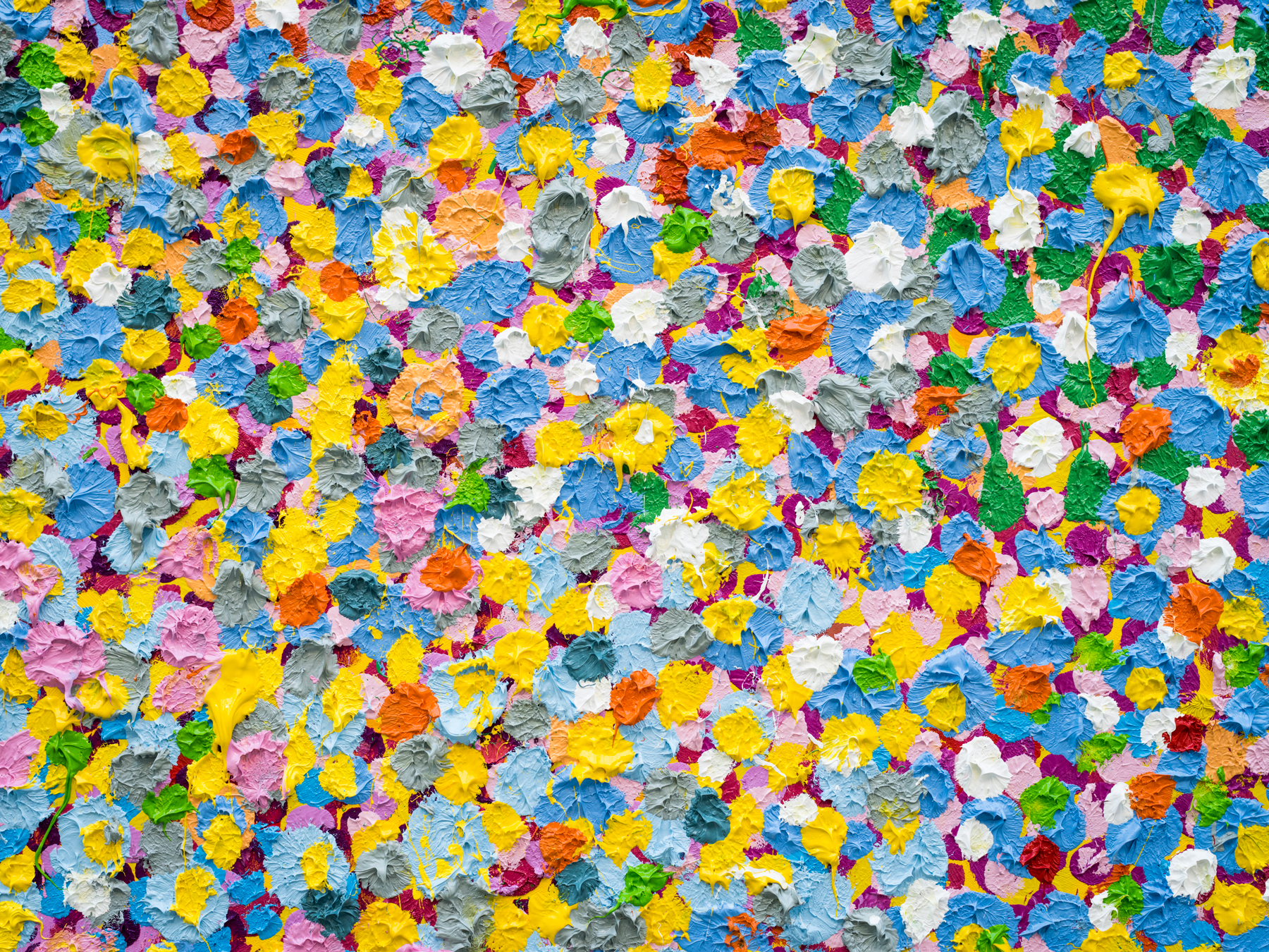 Damien Hirst S Latest Conceptual Feat Painting The Canvases Himself Artsy