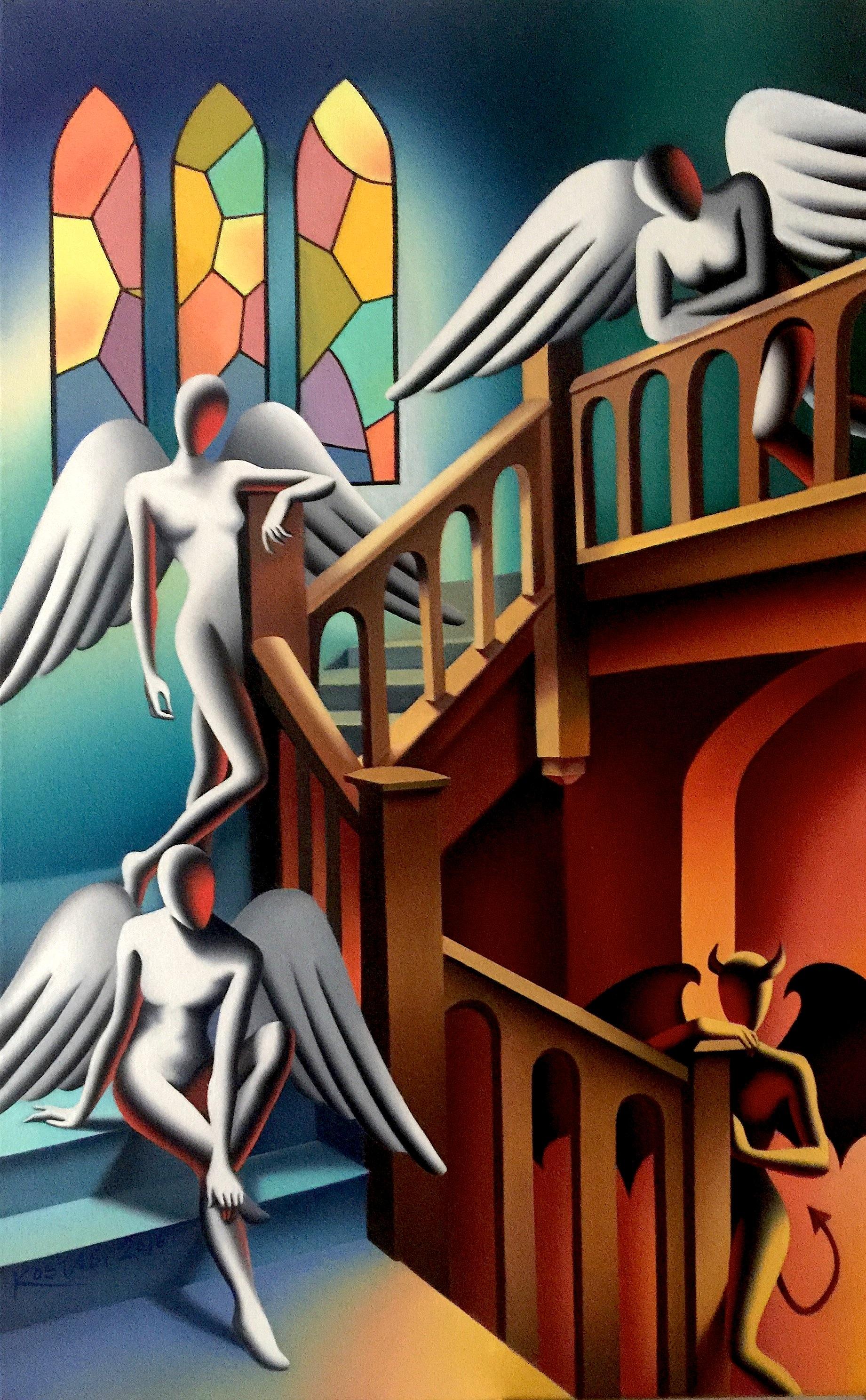 Mark Kostabi Is Still Hustling, Decades after '80s Art Stardom - Artsy