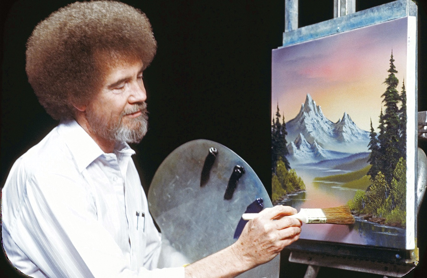 How Bob Ross Became Everyones Favorite Art Teacher Artsy