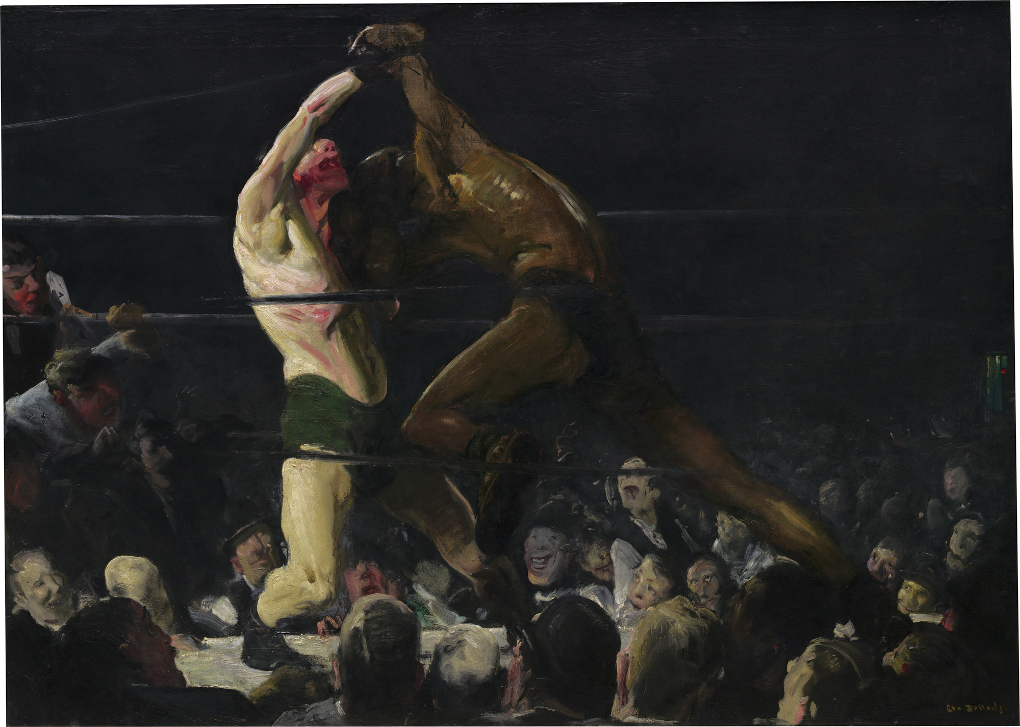 What George Bellows's Boxing Paintings Reveal about Toxic