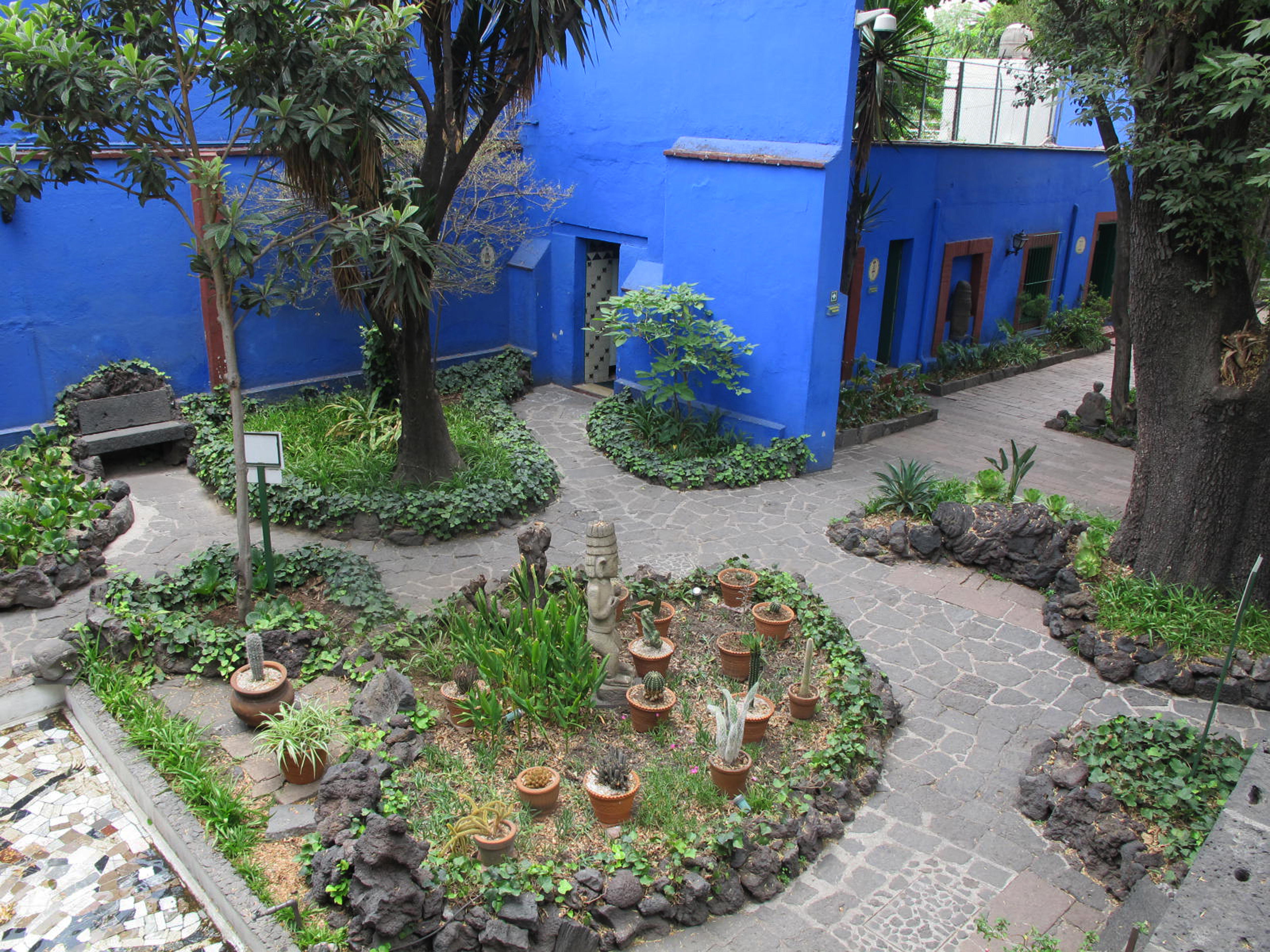 Frida Kahlo's Casa Azul Garden Is Still Thriving—Six Decades after